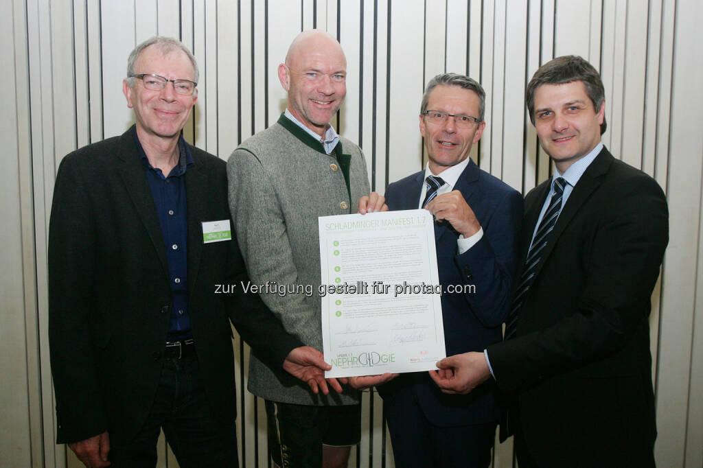 Welldone Werbung und PR GmbH: Update 1.7 Nephrologie-Symposium im Congress Schladming (Fotocredit: APA Fotoservice/Peter Hautzinger), © Aussender (09.05.2017)