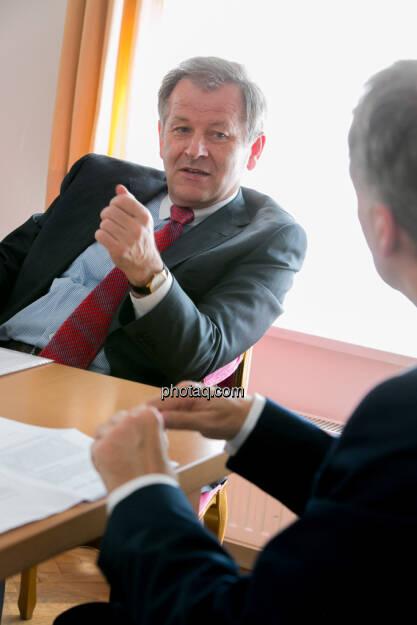 Eduard Zehetner (Immofinanz), © finanzmarktfoto.at/Martina Draper (15.05.2013)