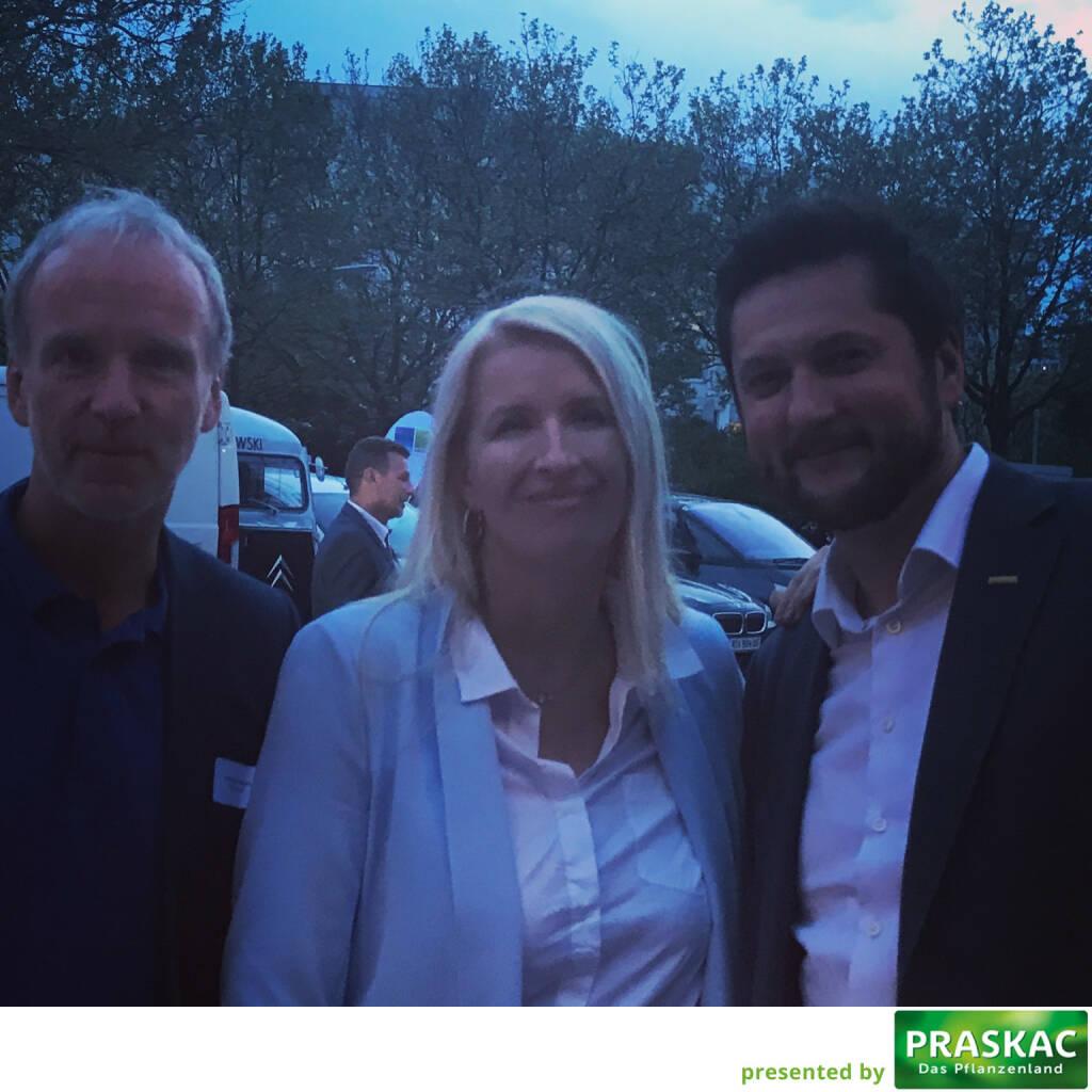 Mit Claudia Stöckl und Damien Izdebski (12.05.2017)
