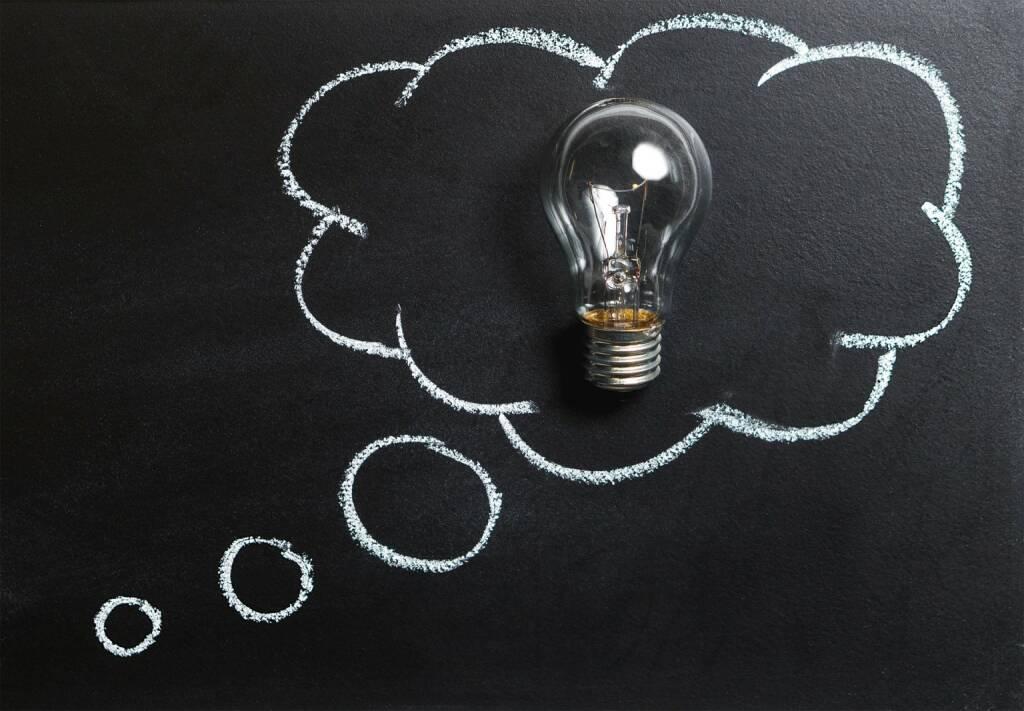 Gedanken, nachdenken, Idee, Kreativ, Innovation, Phantasie (Bild: Pixabay/TeroVesalainen https://pixabay.com/de/gedanken-idee-innovation-phantasie-2123970/ ) (12.05.2017)