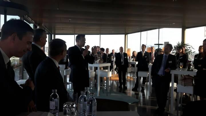 Wiener Börse / Christoph Boschan - über den Dächern Wiens hielt ich letzte Woche die Keynote beim Kapitalmarktabend von Erste Group und Wiener Börse . Die Experten der Erste Group referierten zu Zinsumfeld und Kapitalmarktfinanzierung. Eine gelungene Veranstaltung!