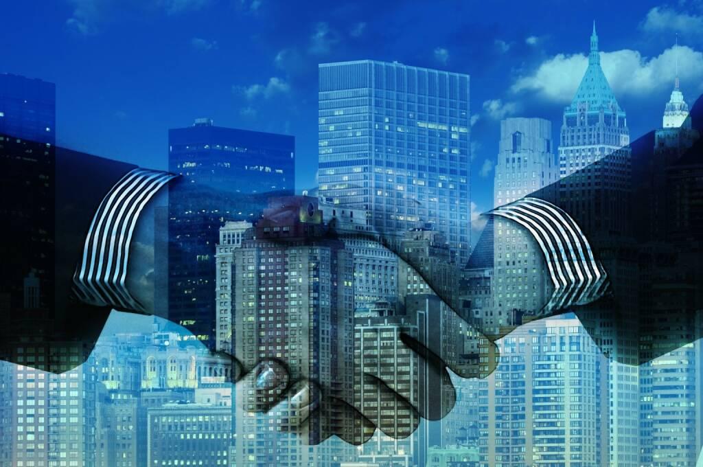 Immo, Immobilie, Handschlag, Handshake, Deal, OK, Geschäft, Abschluss, Hände (Bild: Pixabay/geralt https://pixabay.com/de/hände-händeschütteln-unternehmen-1063442/ ) (15.05.2017)