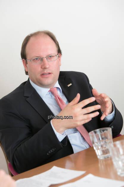 Florian Nowotny (CA Immo), © finanzmarktfoto.at/Martina Draper (15.05.2013)