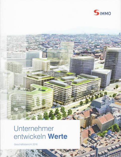 S Immo Geschäftsbericht 2016 - http://boerse-social.com/financebooks/show/s_immo_geschaftsbericht_2016 (18.05.2017)