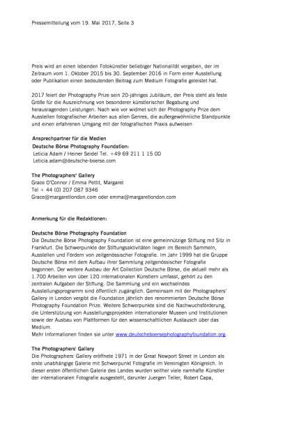 """Dana Lixenberg mit dem """"Deutsche Börse Photography Foundation Prize 2017"""" ausgezeichnet, Seite 3/4, komplettes Dokument unter http://boerse-social.com/static/uploads/file_2257_dana_lixenberg_mit_dem_deutsche_borse_photography_foundation_prize_2017_ausgezeichnet.pdf (19.05.2017)"""
