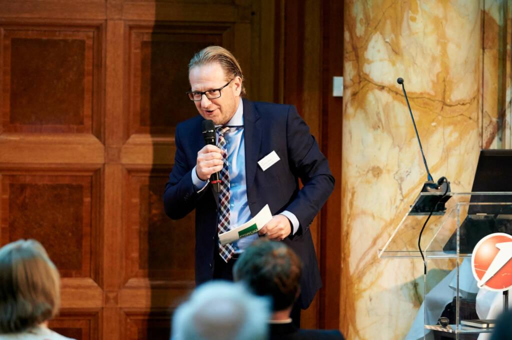 Markus Kaller (Erste Group) - Zertifikate Award Austria 2017 (Fotocredit: Zertifikate Forum Austria), © Zertifikate Forum Austria (19.05.2017)