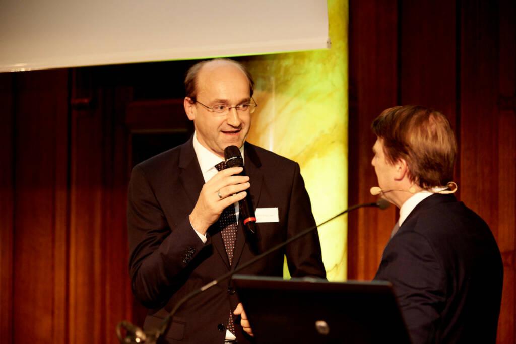 Ernst Huber (DAD.AT), Lars Brandau (DDV) - (Fotocredit: Zertifikate Forum Austria), © Zertifikate Forum Austria (19.05.2017)