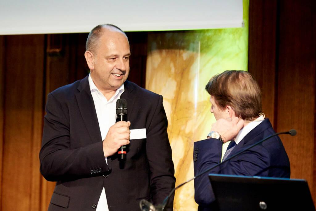 Robert Ulm (flatex.at), Lars Brandau (DDV) - Zertifikate Award Austria 2017 (Fotocredit: Zertifikate Forum Austria), © Zertifikate Forum Austria (19.05.2017)