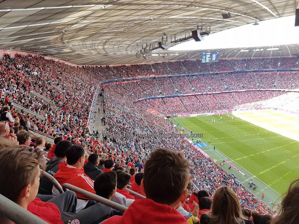 Allianz Arena, FC Bayern München (22.05.2017)