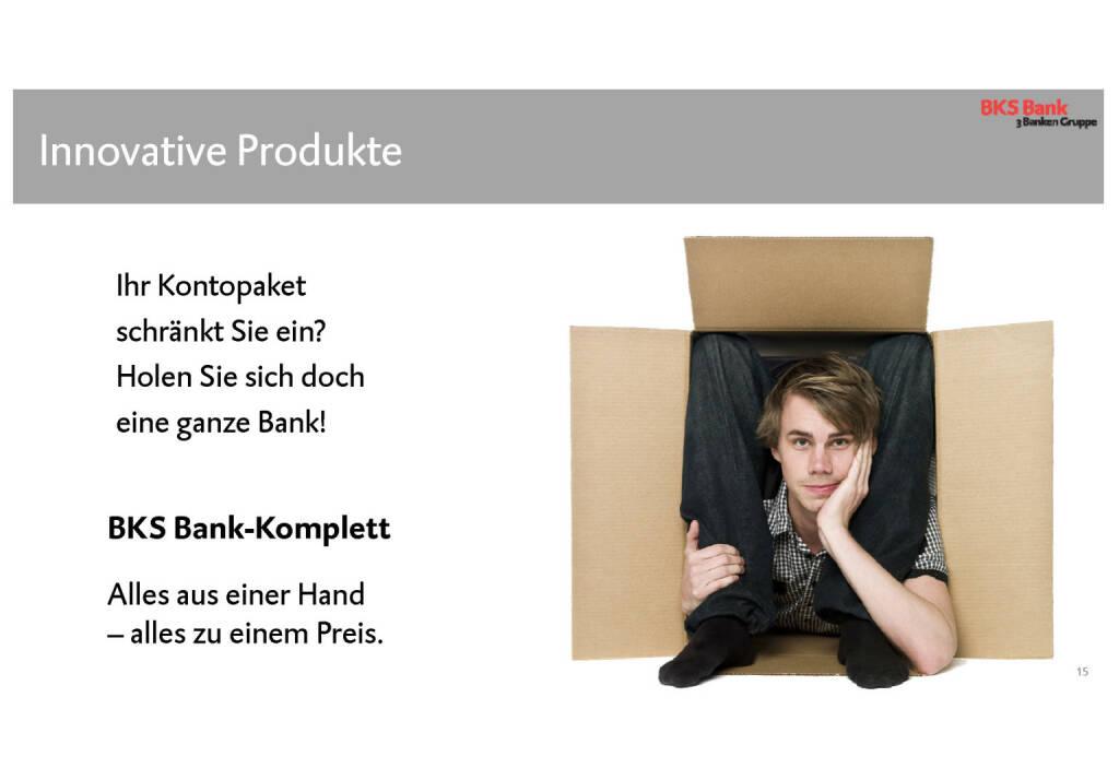 BKS - Innovative Produkte (30.05.2017)