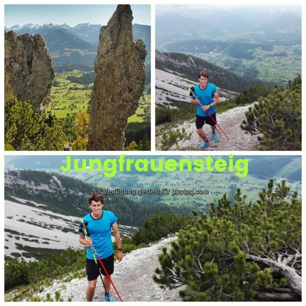 Paul Gerstgraser Jungfrauensteig (01.06.2017)