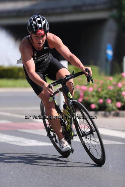 Tanja Stroschneider, Tulln Tri, Radfahren, © Tanja Stroschneider (06.06.2017)