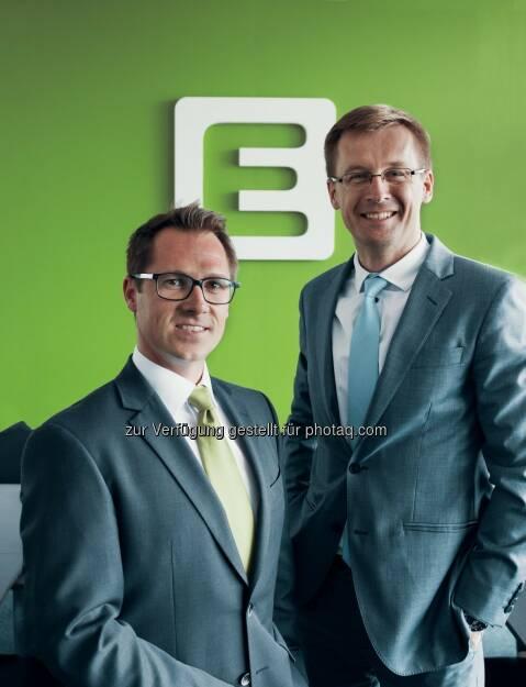 Energie Steiermark AG: Ondrej Borgula und Christoph Varga: Neuer Vorstand für Slowakei-Tochter der Energie Steiermark (Fotograf: Marco Marti / Fotocredit: Energie Steier), © Aussender (08.06.2017)