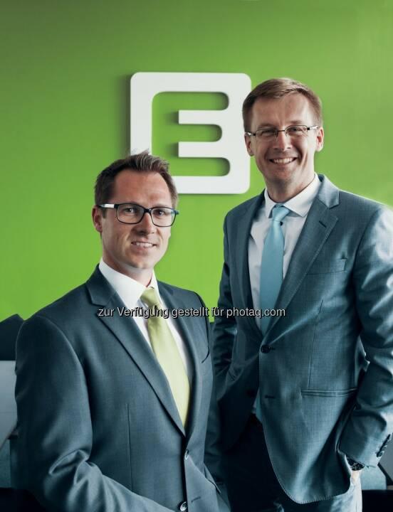 Energie Steiermark AG: Ondrej Borgula und Christoph Varga: Neuer Vorstand für Slowakei-Tochter der Energie Steiermark (Fotograf: Marco Marti / Fotocredit: Energie Steier)