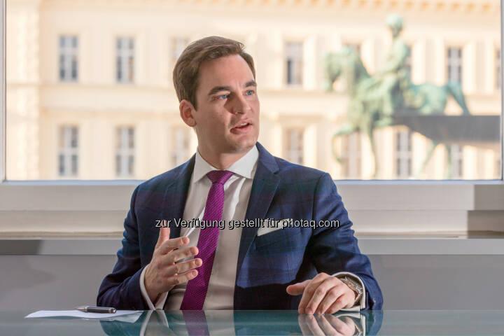 Christian Koppensteiner, neuer Österreich-Manager von CBRE Global Investors - comm.ag Communication Agency GmbH: Koppensteiner neuer CBRE-Manager Österreich (Fotograf: Patrick Neef / Fotocredit: comm.ag Communication Agency GmbH)