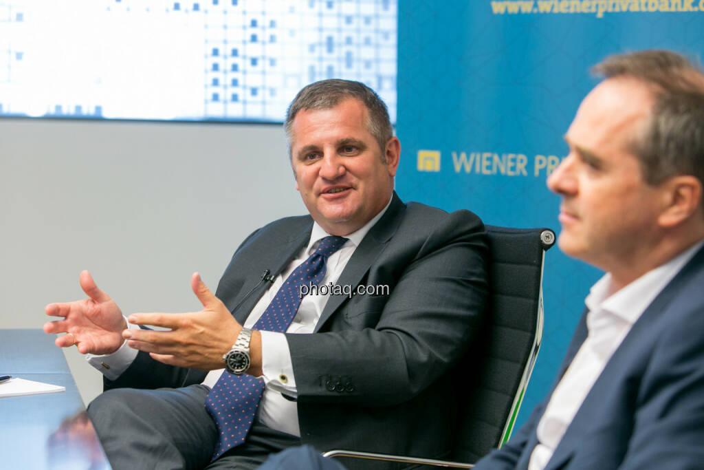 Eduard Berger (Vorstand Wiener Privatbank) - Wolfgang Matejka (CIO Wiener Privatbank und Fondsmanager bzw. Geschäftsführer Matejka & Partner Asset Management) - (Fotocredit: Martina Draper) (14.06.2017)
