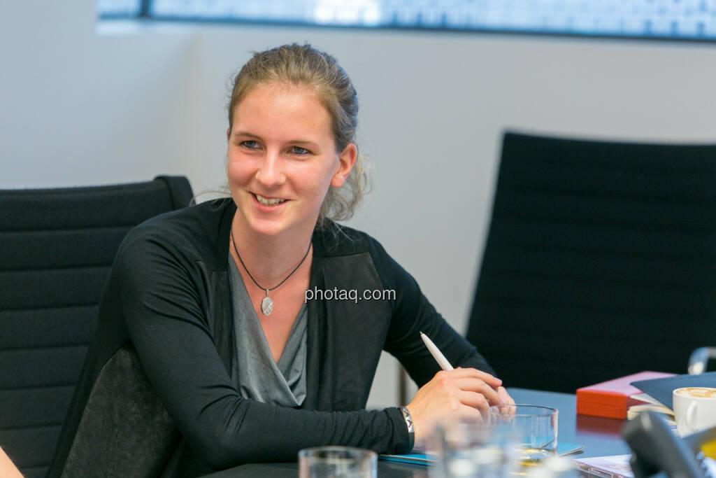 Tatjana Aubram (Studentin) - (Fotocredit: Martina Draper) (14.06.2017)