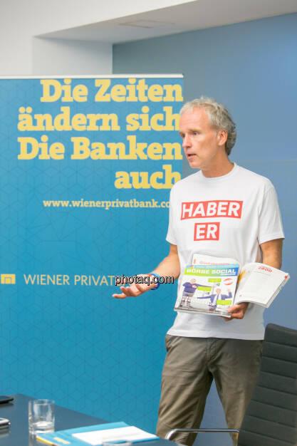 Christian Drastil (Herausgeber Börse Social Magazine) - (Fotocredit: Martina Draper) (14.06.2017)