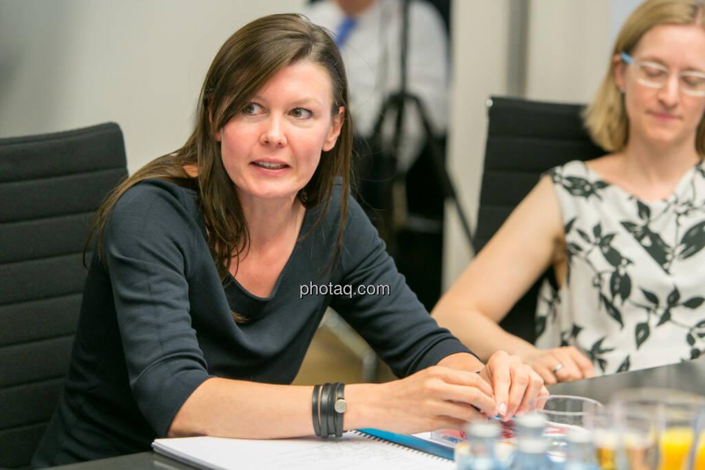 FH-Prof. Mag. Monika Kovarova-Simecek (Dozentin am Department Medien und Wirtschaft der FH St. Pölten) - Jasmin Wolf-Veigel (Studentin) - (Fotocredit: Martina Draper) (14.06.2017)