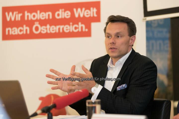 Wiener Börse Vorstand Christoph Boschan - Wiener Börse AG: Invest Global – Buy Local: Jetzt auch deutsche Aktien an der Wiener Börse handeln (Fotograf: Daniel Hinterramskogler / Fotocredit: APA)