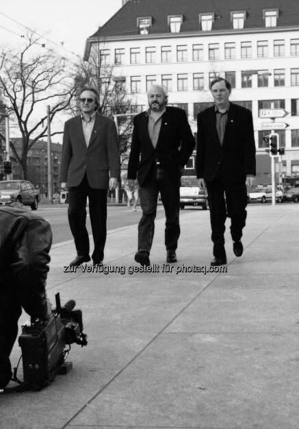 Hans-Ueli Rihs, Andy Rihs, Beda Diethelm - Phonak AG: 70 Jahre Phonak - Leben verändern und Grenzen überwinden  (Fotocredit:Phonak AG), © Aussender (21.06.2017)