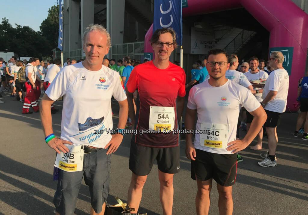 Christian Drastil, Josef Chladek, Michael Plos (23.06.2017)