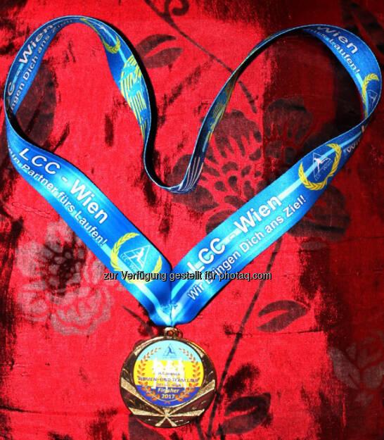 Medaille LCC Teamrun (23.06.2017)