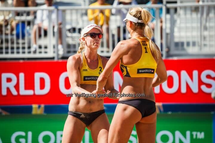 Margareta Kozuch und Borger Karla - Beach Majors GmbH: Teilnehmerfeld für die FIVB Beach Volleyball WM 2017 komplett (Fotograf: Dave McMahan / Fotocredit: Beach Majors)