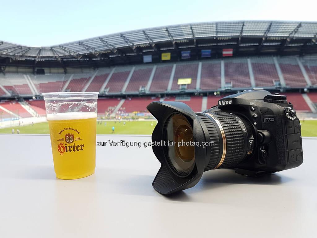 Hirter Bier, Nikon, Fotoapparat, Kamera (24.06.2017)