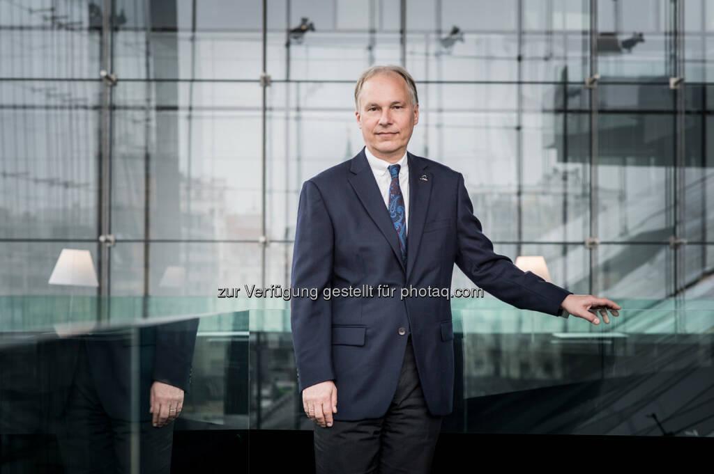 Uniqa Vorstand Peter Eichler, zuständig für Personenversicherungen in Österreich und CEE - Einheitliches Europäisches Pensionsprodukt (Bild: Uniqa/Froese), © Aussendung (29.06.2017)