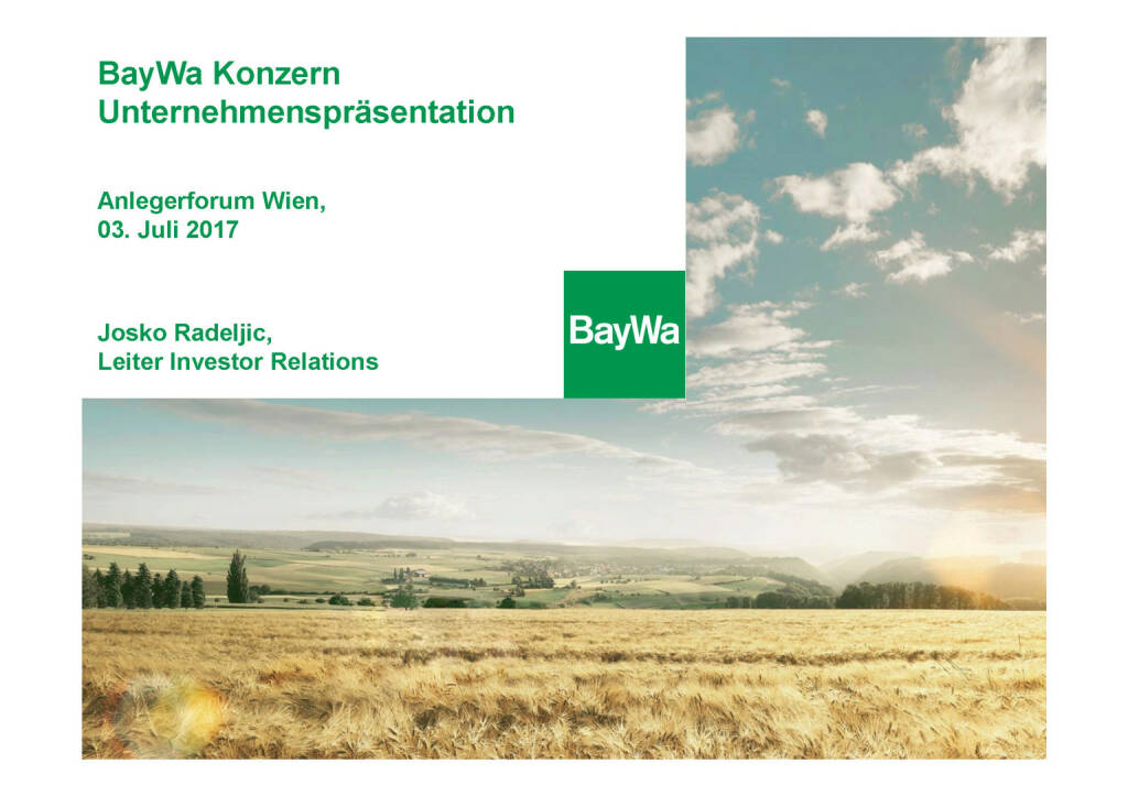 Präsentation BayWa (03.07.2017)
