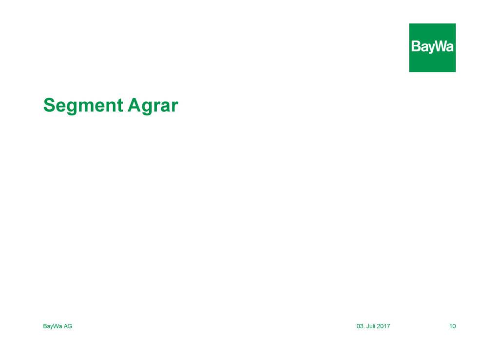 Präsentation BayWa - Agrar (03.07.2017)
