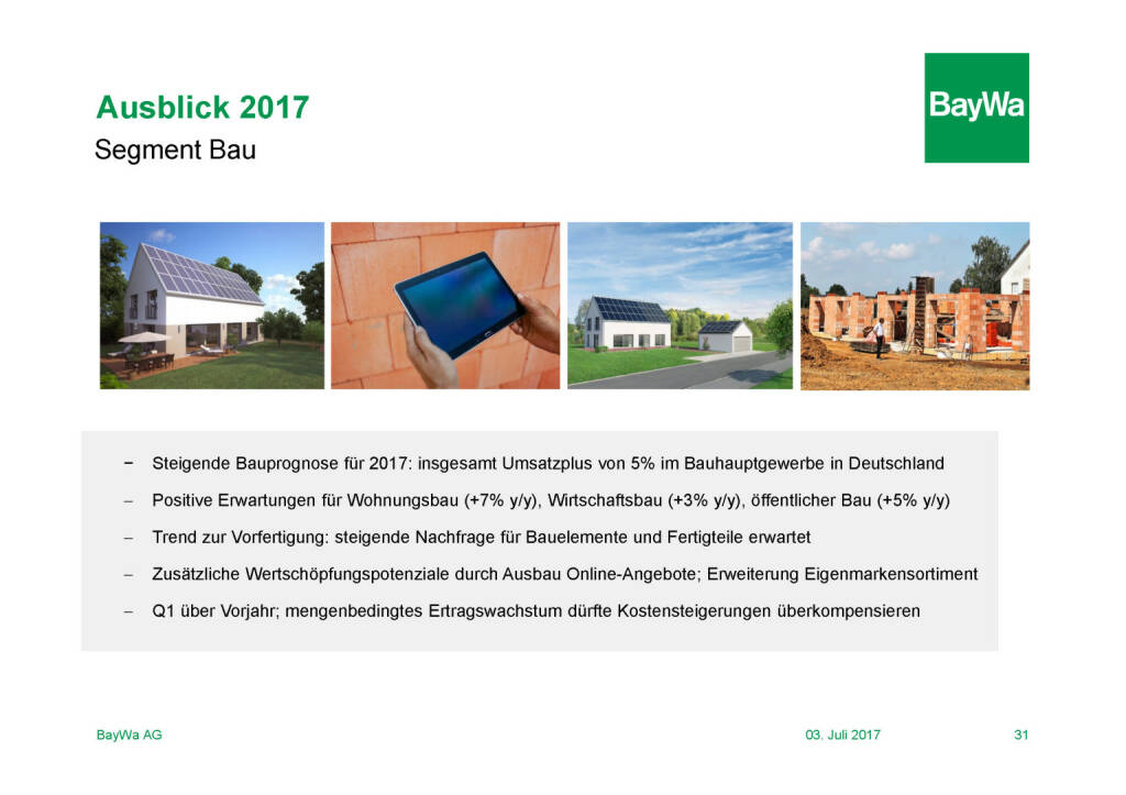 Präsentation BayWa - Ausblick 2017 (03.07.2017)