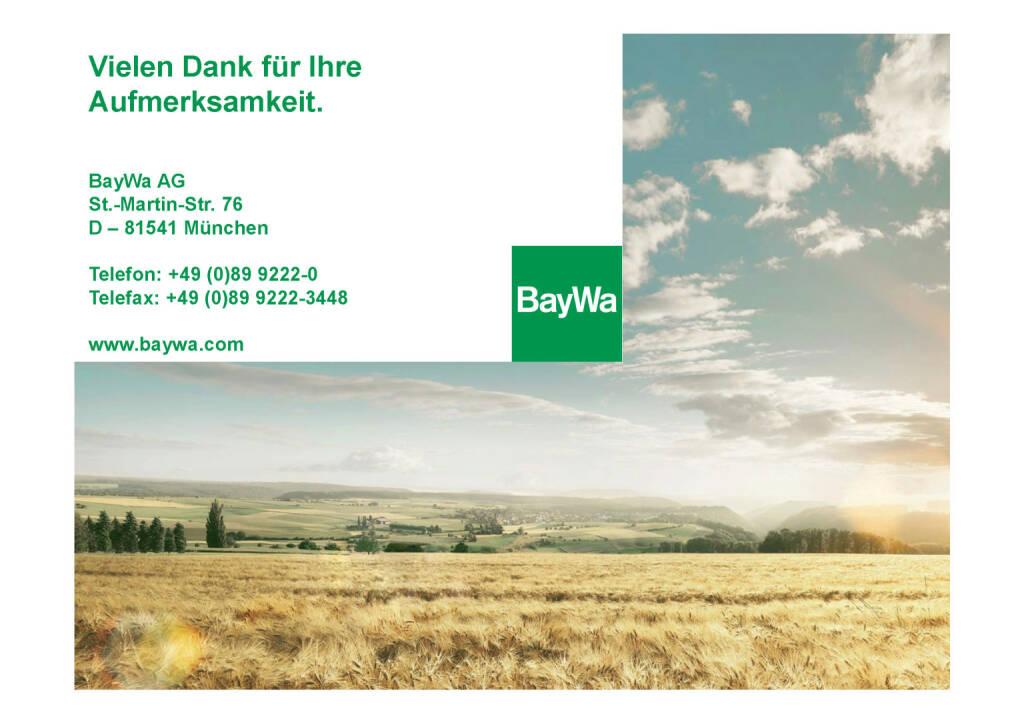 Präsentation BayWa - Danke (03.07.2017)