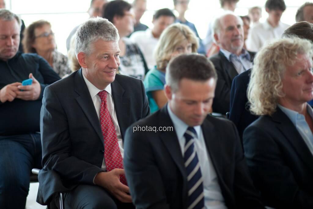 Tjark Schütte (Deutsche Post) pus Gäste der Roadshow, © Michaela Mejta (04.07.2017)