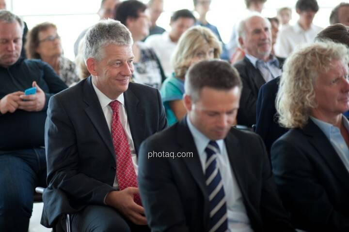 Tjark Schütte (Deutsche Post) pus Gäste der Roadshow