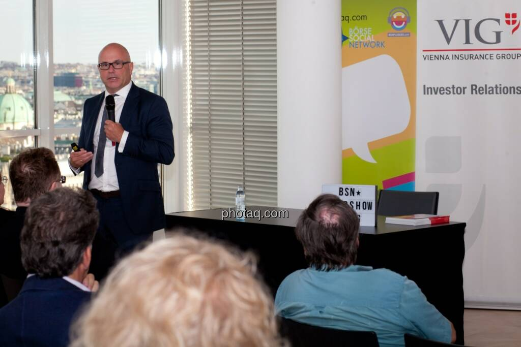 Ulrich Brockmann, Hauptabteilungsleiter Finanzen/IR bei der Fielmann AG, © Michaela Mejta (04.07.2017)