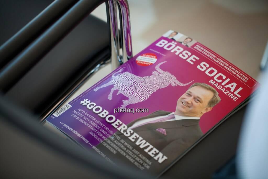 Börse Social Magazine, Cover, © Michaela Mejta (04.07.2017)