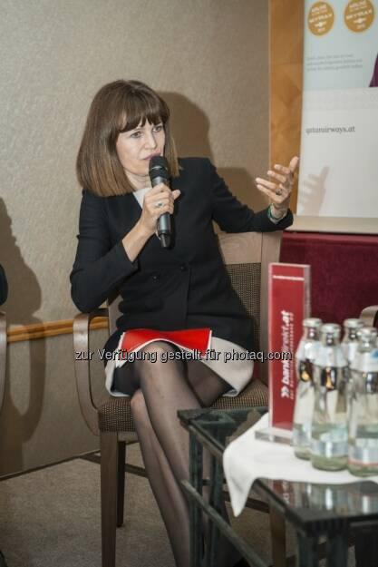 Birgit Kuras beim Börseprofi 2013, © zur Verfügung gestellt von bankdirekt.at (21.05.2013)