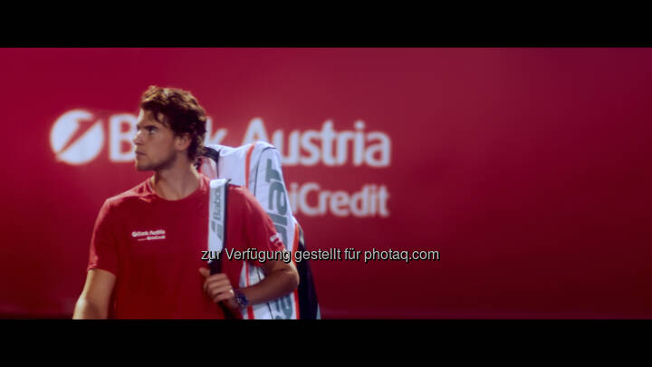 Dominic Thiem, Foto: UniCredit Bank Austria