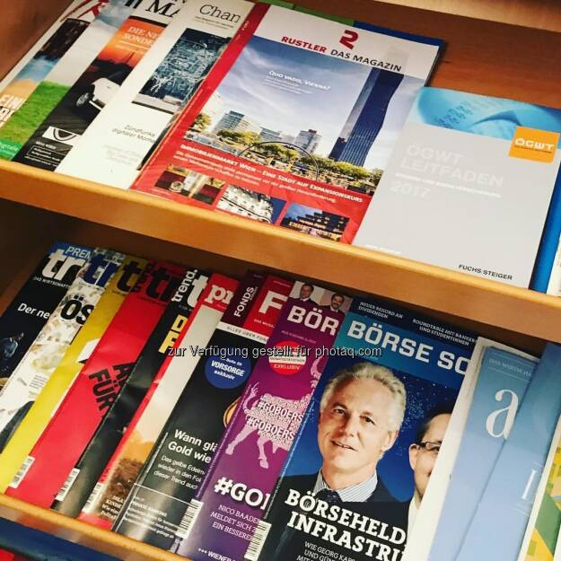Börse Social Magazine im Regal (14.07.2017)
