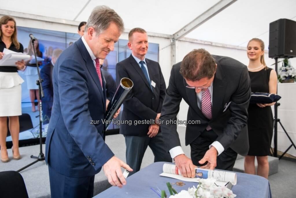 Eduard Zehetner, Marek Tryzybowicz, Franz Scheibenecker, &copy; Immofinanz via <a href=
