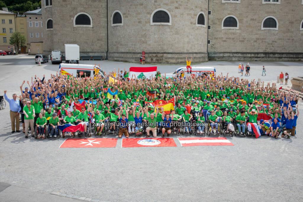 Die Malteser: Internationales Malteser Camp 2017: Über 500 junge Menschen mit und ohne Behinderung für eine außergewöhnliche Woche in Salzburg (Fotograf: Christian Lendl / Fotocredit: Malteser), © Aussender (24.07.2017)