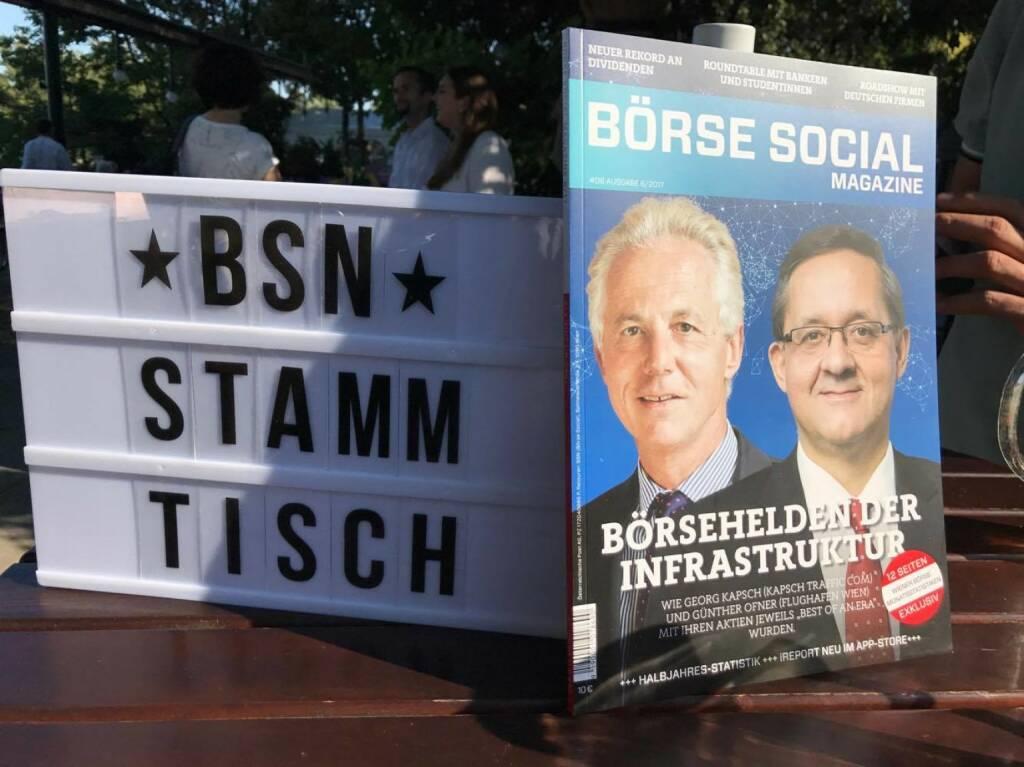 BSN Stammtisch in der Alten Kaisermühle (26.07.2017)