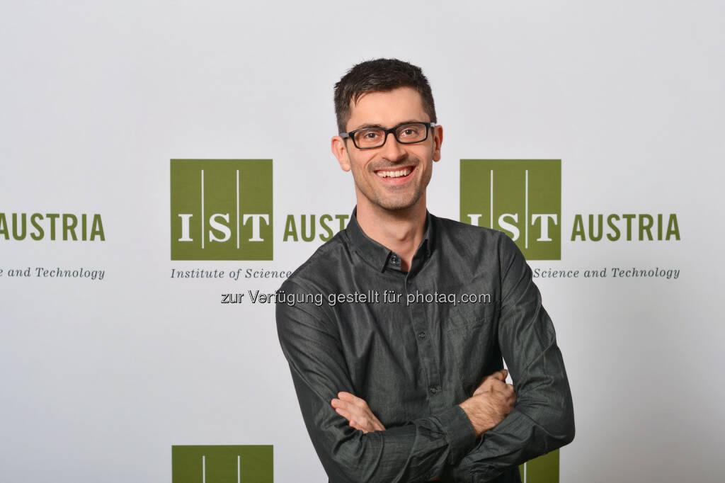 Bernd Bickel, Computerwissenschaftler am IST Austria, erhält Significant New Researcher Award der ACM SIGGRAPH - IST Austria: Bernd Bickel erhält Significant New Researcher Award der ACM SIGGRAPH (Fotograf: Paul Pölleritzer / Fotocredit: IST Austria), © Aussender (26.07.2017)