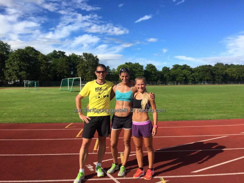 Martin Zach, Lisa Hütthaler, Julia Mayer (26.07.2017)