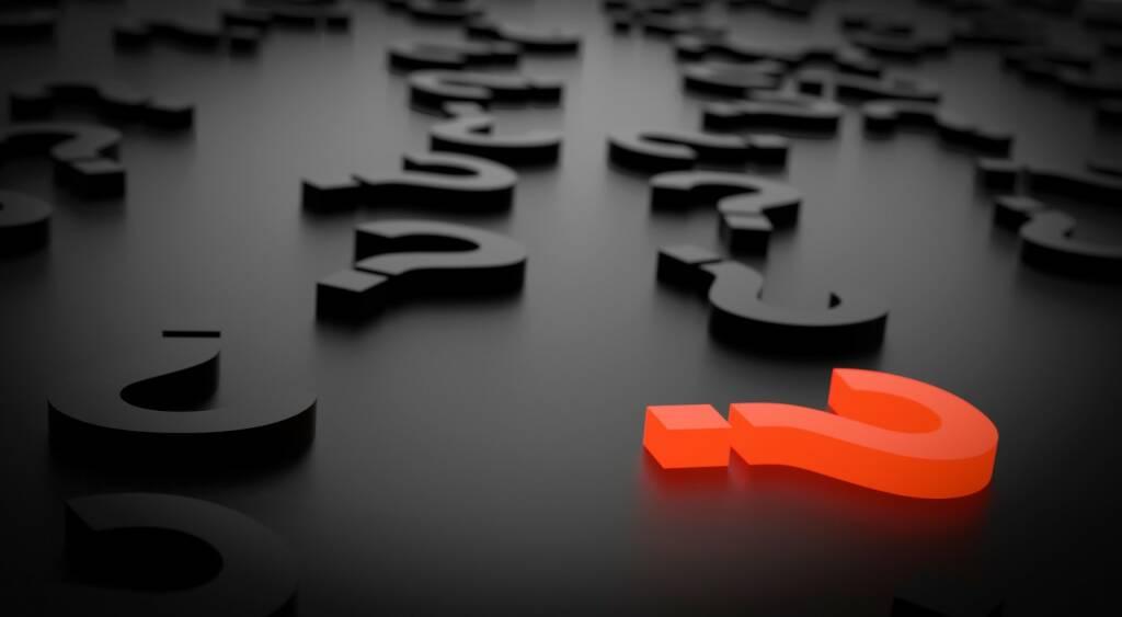 Frage, Fragezeichen, Sicher, Unsicher, Volatilität, Vola (Bild: Pixabay/qimono https://pixabay.com/de/fragezeichen-wichtig-anmelden-1872634/ ) (28.07.2017)