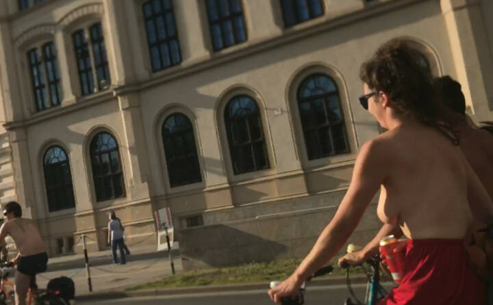 Naked Bike Ride Wien
