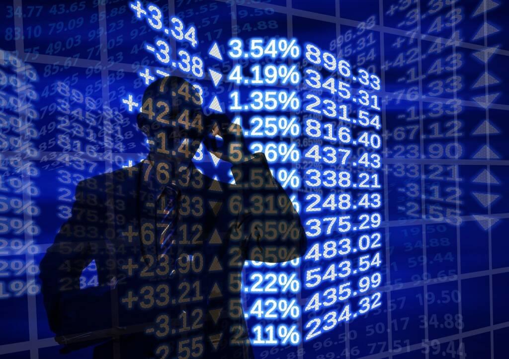 Plus, Minus, Aktie, Börse, Chart, Performance, Plusminus, Traden, Trader (Bild: Pixabay/geralt https://pixabay.com/de/börse-weltwirtschaft-mann-911609/ ) (08.08.2017)