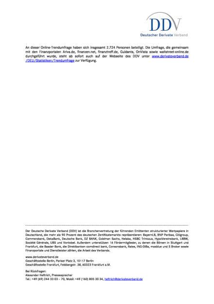 DDV-Trend-Umfrage August 2017, Seite 2/2, komplettes Dokument unter http://boerse-social.com/static/uploads/file_2307_ddv-trend-umfrage_august_2017.pdf (09.08.2017)